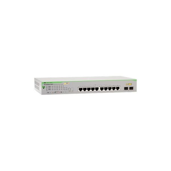 Allied Telesis AT-GS950/10PS-50 Gestito Gigabit Ethernet (10/100/1000) Grigio Supporto Power over Ethernet (PoE)