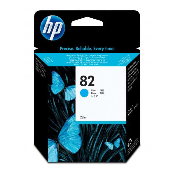 HP HP Cartuccia inchiostro ciano DesignJet 82, 28 ml