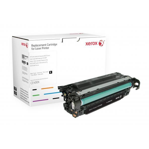Xerox Xerox Cartuccia toner nero. Equivalente a HP CE400X. Compatibile con HP Colour LaserJet M551DN, Colour LaserJet M575