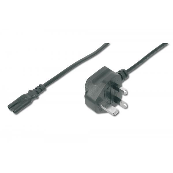 ASSMANN Electronic AK-440116-018-S 1.8m Spina di alimentazione di tipo G Accoppiatore C7 Nero cavo di alimentazione 4016032314721 AK-440116-018-S 10_5094772