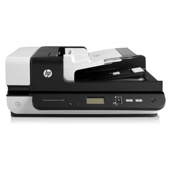 HP Scanjet Ent Flow 7500 Flatbed Scanner HP Sj Ent Flow 7500 Fltbd Eu Multilngual - L2725B#B19