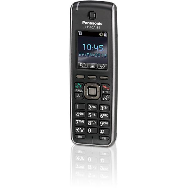 Panasonic KX-TCA185 Ricevitore telefonico DECT Nero