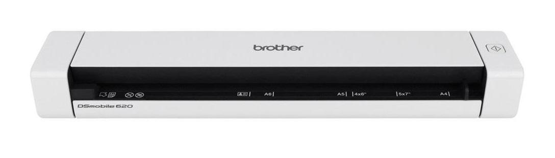 Brother DS-620 Scanner a foglio 600 x 600DPI A4 Nero, Bianco scanner 4977766721837 DS-620 14_DS620