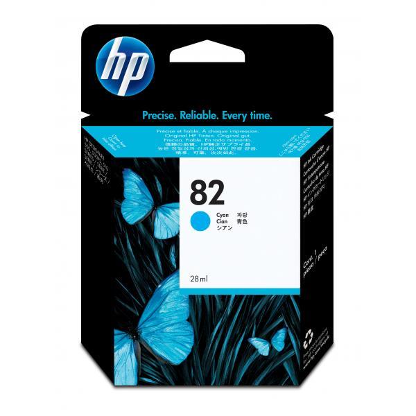 HP HP Cartuccia inchiostro ciano DesignJet 82, 69 ml cartuccia d'inchiostro