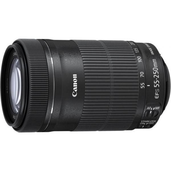 Canon EF-S 55-250mm f/4-5.6 IS STM SLR Telephoto lens Nero 4960999979373 8546B005 08_8546B005