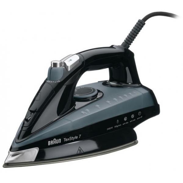 Braun TexStyle 7 TS745A Ferro a vapore Eloxal 2400W Nero, Grigio 8021098270085 0X12711022 TP2_0X12711022