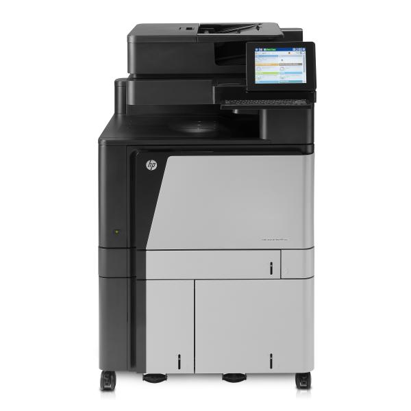 HP Color LaserJet Enterprise flow MFP M880z+ - Multifuntional printer - color - laser - A3 (297 x 420 mm), Ledger (279 x 432 mm) (original) - A3 (profile) - maximum 46 ppm (printend) - 4100 sheets - 33.6 Kbps - USB 2.0, Gigabit LAN, USB host, USB-host (intern) - A2W76A#B19