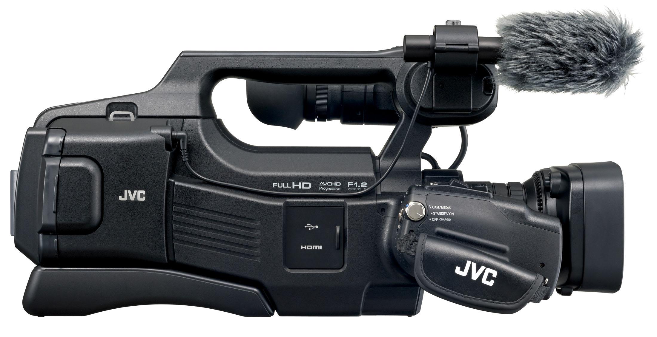 JVC GY-HM70E videocamera 12 MP CMOS Shoulder camcorder Nero Full HD