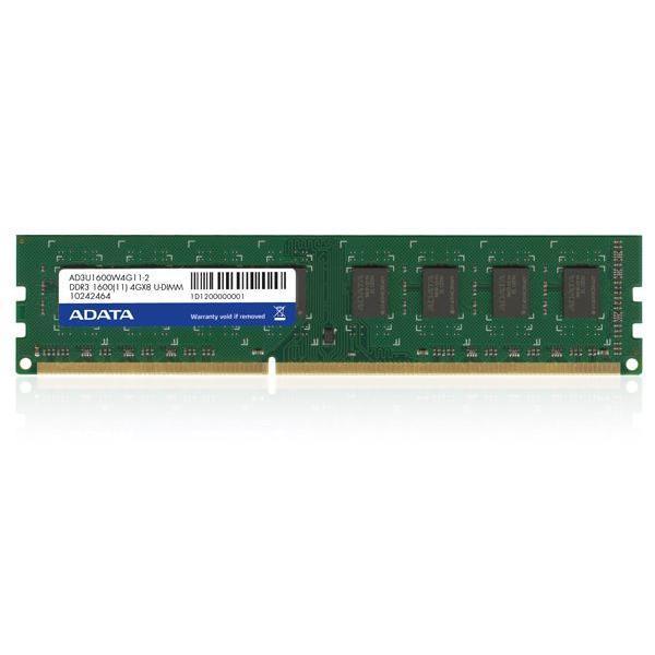 ADATA 8GB DDR3 U-DIMM 8GB DDR3 1600MHz memoria 4713435794395 AD3U1600W8G11-S 03_AD3U1600W8G11