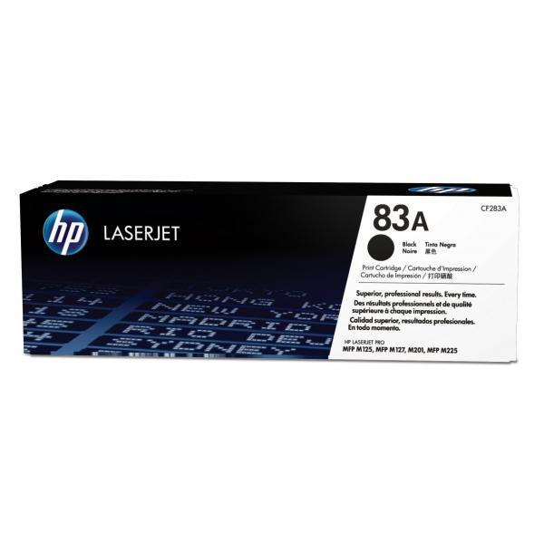HP Cartuccia Toner originale nero LaserJet 83A 0886112397692 CF283A COM_49480