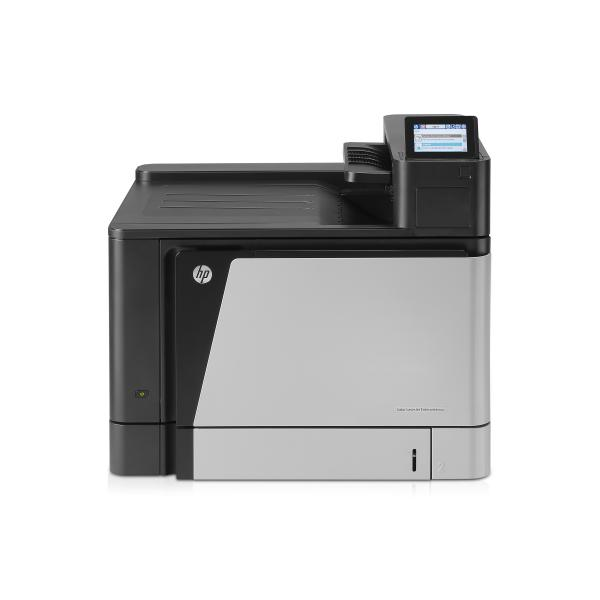 HP Color LaserJet Enterprise Printer, A3, Up to 45 ppm A4/letter, up to 600 sheet capacity, built in networking, automatic duplex HP Color LJ M855dn Printer:EURMulti - A2W77A#B19