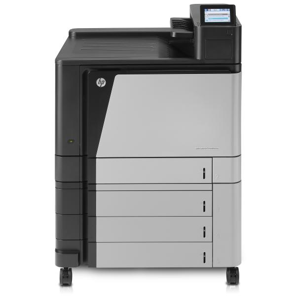 HP Color LaserJet Enterprise Printer, A3, Up to 45 ppm A4/letter, up to 2,100 sheet capacity, built in networking, automatic duplex, hdd, HP Color LJ M855xh Printer:EURMulti - A2W78A#B19