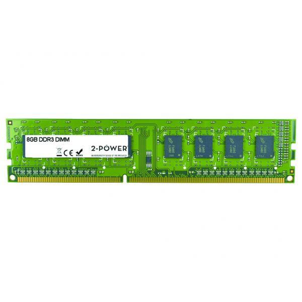2-Power 8GB DDR3 DIMM 8GB DDR3 1600MHz memoria 5055190149140 MEM0304A 10_0K15784
