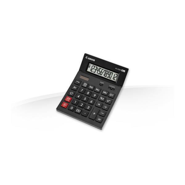 Canon AS-2200 Scrivania Calcolatrice con display Nero 4960999673646 4584B001 10_242Q760