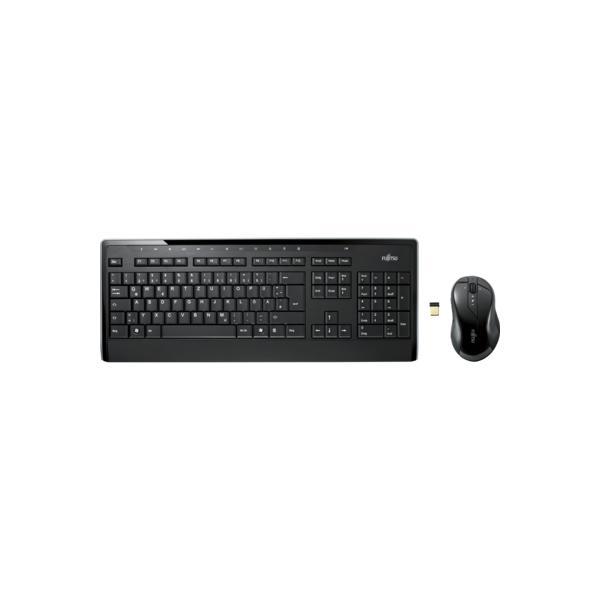FUJITSU Wireless KB Mouse Set LX901 DE - S26381-K565-L420