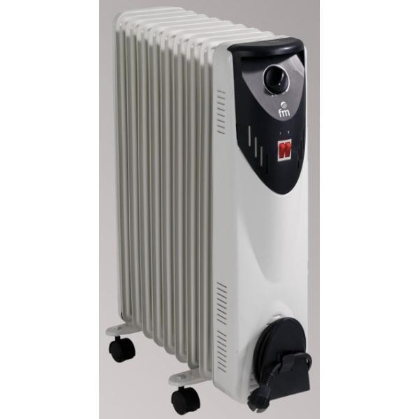 FM Calefacción RW-20 Nero, Grigio 2000W Radiatore stufetta elettrica 8427561001567  02_S0403232