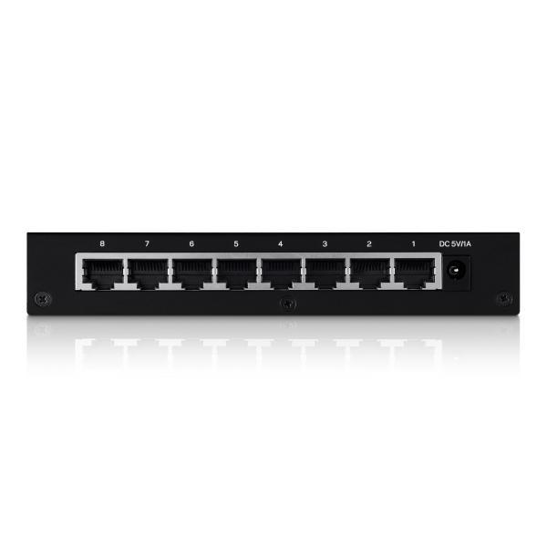 Switch LGS108 8 Porte Gigabit Ethernet Non Gestito