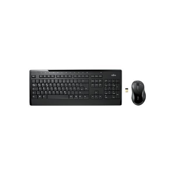 FUJITSU Wireless KB Mouse Set LX901 IT - S26381-K565-L485
