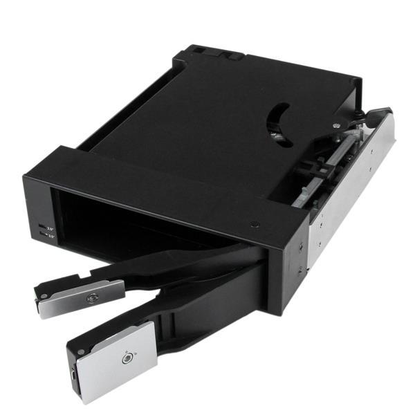 StarTech.com Scheda backplane per rack portatile trayless hot-swap doppio alloggiamento 5,25