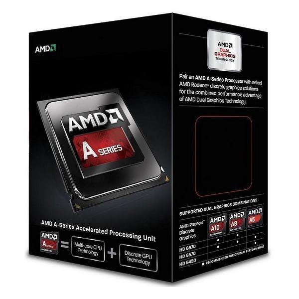 AMD A series A6-6420K Black Edition 4GHz 1MB L2 Scatola processore 0730143304566 AD642KOKHLBOX 10_B960828