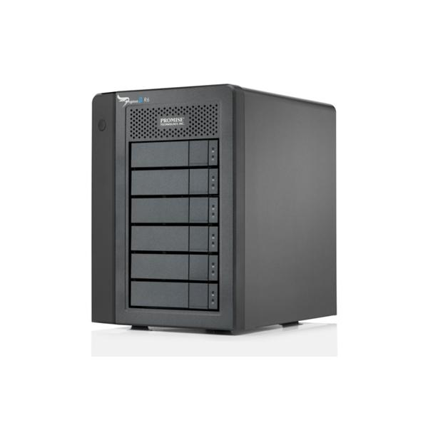 Promise Technology 12TB Pegasus 2 R6 Server di archiviazione Mini Tower Nero 0704118095940 F40SR6R02100000 10_S350596