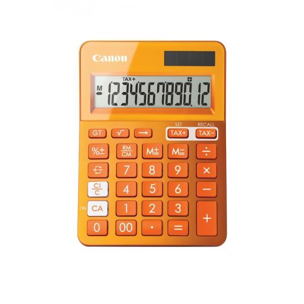 Canon LS-123k Scrivania Calcolatrice di base Arancione 4549292008555 9490B004AA 10_2420M08