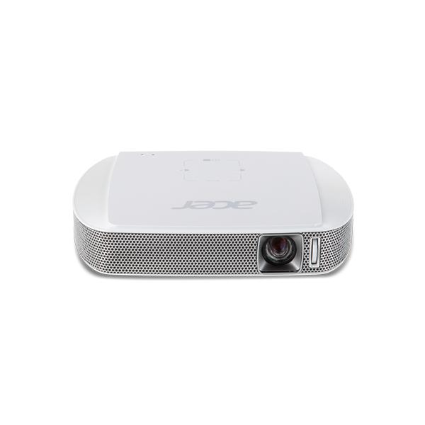 Acer Travel C205 Proiettore portatile 150ANSI lumen DLP WVGA (854x480) Bianco videoproiettore 4713147096886 MR.JH911.001 03_MR.JH911.001