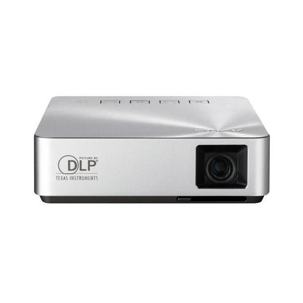 ASUS S1 Proiettore portatile 200ANSI lumen DLP WVGA (854x480) Argento videoproiettore 4716659633693 90LJ0060-B00120 10_B99N975