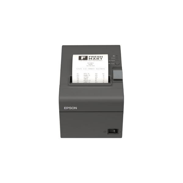 STAMPANTE EPSON TM-T20II-002 TERMICA PER SCONTRINI. Interfaccia SERIALE/USB Taglierina autom. Alimentatore di rete. Colore nero