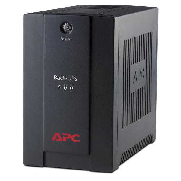 APC APC Back-UPS gruppo di continuità (UPS) A linea interattiva 500 VA 300 W 3 presa(e) AC