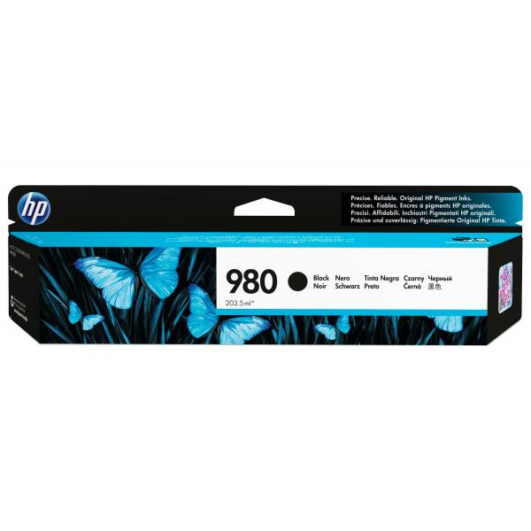 HP 980 black original ink cartridge - D8J10A