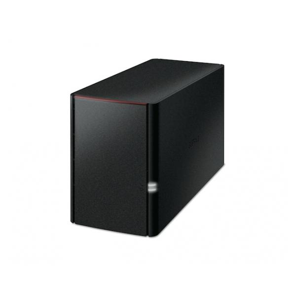 Buffalo LinkStation 220 Server di archiviazione Collegamento ethernet LAN Nero 4981254019610 LS220DE-EU 10_R341180
