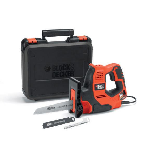 Black & Decker RS890K 23mm 500W Nero, Arancione sabre saws 5035048434666 RS890K-QS 04_90548515