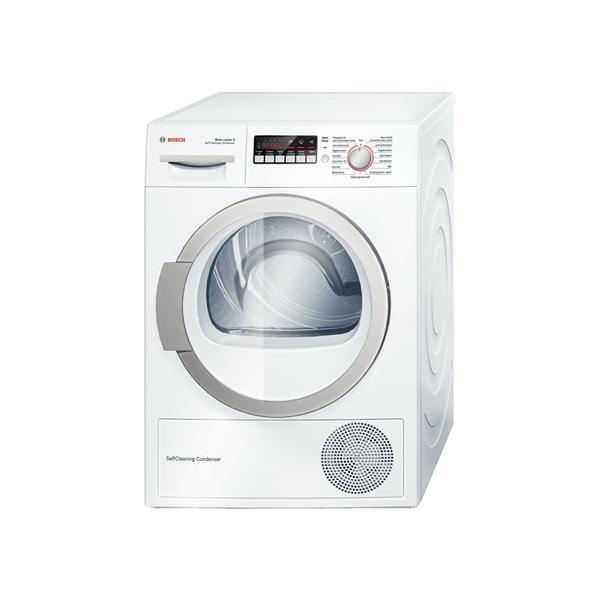 Bosch WTW86271 Libera installazione Carica frontale 8kg A++ Bianco asciugatrice 4242002795041 WTW86271 04_90539833