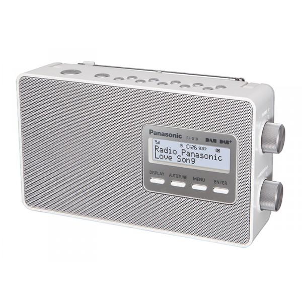 Panasonic RF-D10 Personale Digitale Bianco radio 5025232760053 RF-D10EG-W TP2_RF-D10EG-W