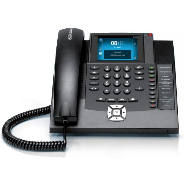 Auerswald COMfortel 1400 Telefono analogico Nero Identificatore di chiamata