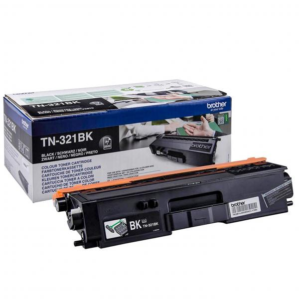 Brother TN-321BK Toner laser 2500pagine Nero cartuccia toner e laser 4977766734967 TN-321BK 14_TN321BK