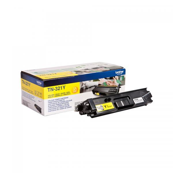 Brother TN-321Y Toner laser 1500pagine Giallo cartuccia toner e laser 4977766735001 TN-321Y 14_TN321Y