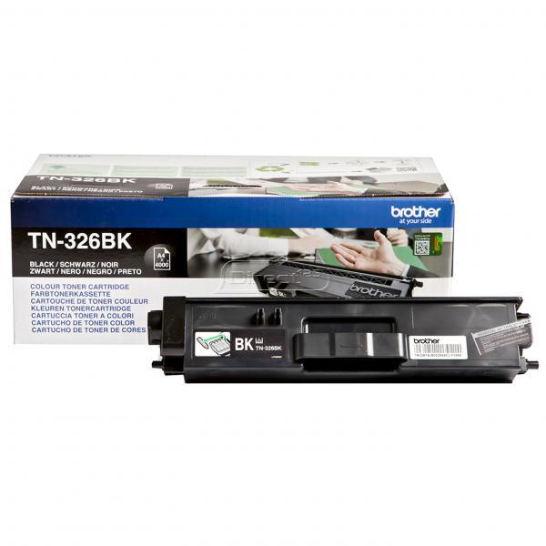 Brother TN-326BK Toner laser 4000pagine Nero cartuccia toner e laser 4977766735018 TN326BK COM_60412