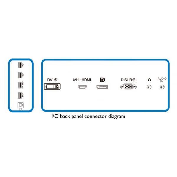 Philips Brilliance Monitor LCD Ultra HD 4K 288P6LJEB/00 8712581716752 288P6LJEB/00 10_Y260870 8712581716752 288P6LJEB/00