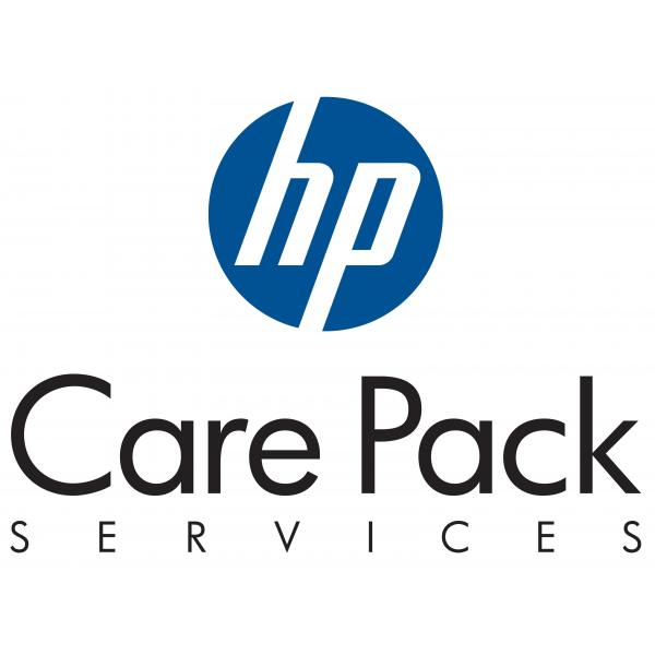 HP 1y PW Nbd P4500 G2 SAN Soln FC SVC,P4500 G2 San Solution,9x5 HW support, next business day onsite response. 9x5 SW phone support and SW Updates for eligible SW *CAREPACKS ARE NOT RETURNABLE OR REFUNDABLE* - U2NR7PE