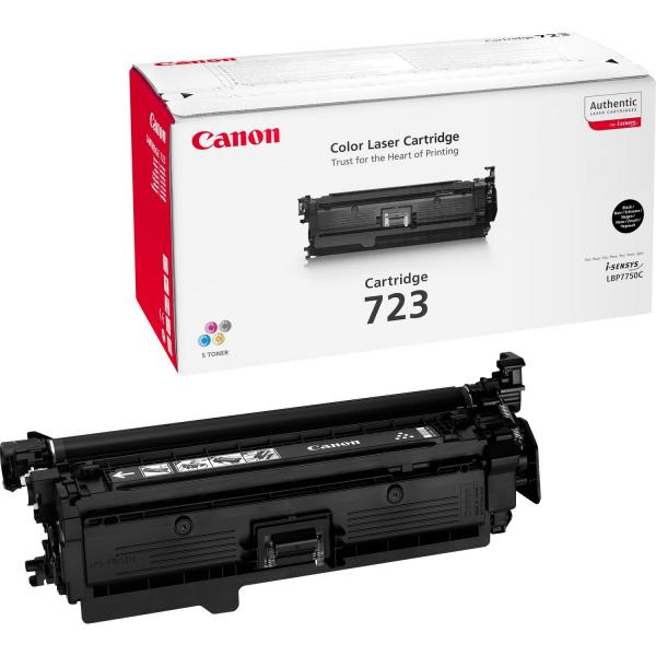 Canon 723BK Laser cartridge 5000pagine Nero  2644B002 TP2_2644B002