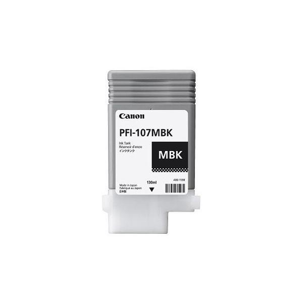 CANON SERBATOIO INCH. MATTE BLACK PFI-107 MBK SINGOLO (130ml) x IPF 670 680 685 770 780 785