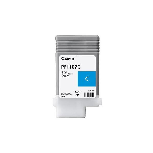 CANON SERBATOIO INCH. CYAN PFI-107 C SINGOLO (130ml) x IPF 670 680 685 770 780 785