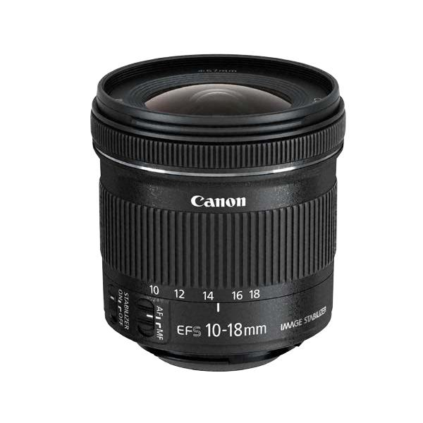 Canon EF-S 10-18 f/4.5-5.6 IS STM Ultra-wide lens Nero 4549292010152 9519B005 08_9519B005
