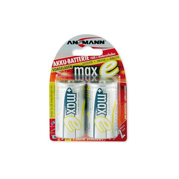 1x2 Ansmann maxE NiMH batteria Mono D 8500 mAh tedesco 5035362