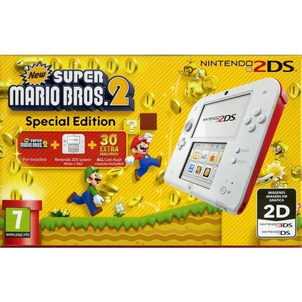 Nintendo 2DS + New Super Mario Bros. 2 3.53