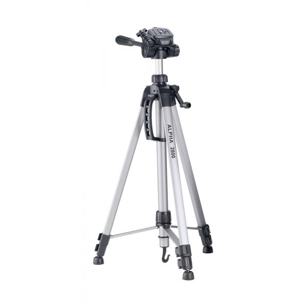 Cullmann Alpha 2800 treppiede Fotocamere digitali/film 3 gamba/gambe Nero, Argento