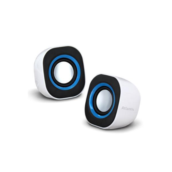 Atlantis Land SoundPower 410 Stereo 5W Nero, Blu, Bianco 8026974016436 P003-C03-W 10_R290666