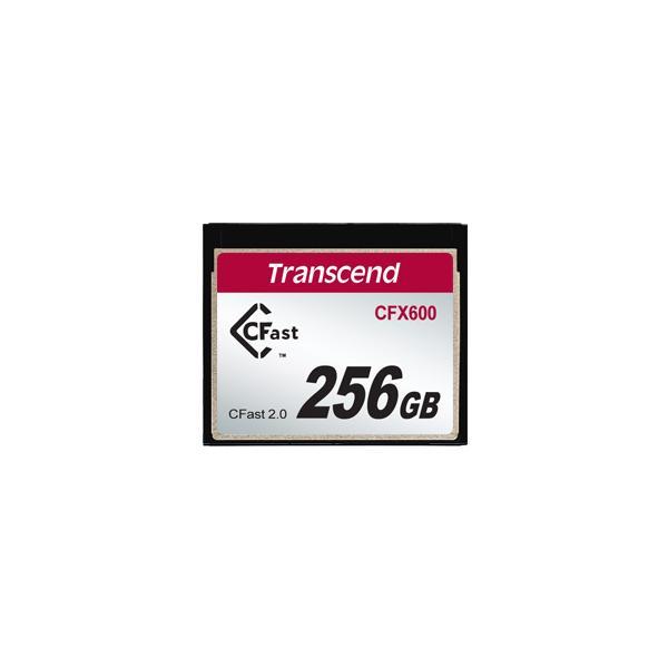 Transcend 256GB CFX600 CFast 2.0 memoria flash SATA MLC